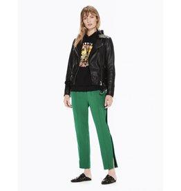 Pantalon avec rayures en velours sur les côtés