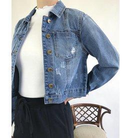 Jean Jacket Cropped