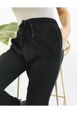 Pantalon jogging avec ourlet haut/bas