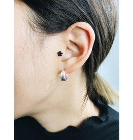 Lauren - Boucles d'oreilles plaqué argent