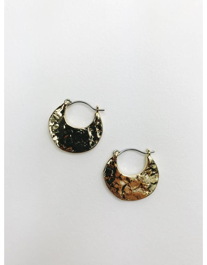 Marley - Gold Plated Earrings