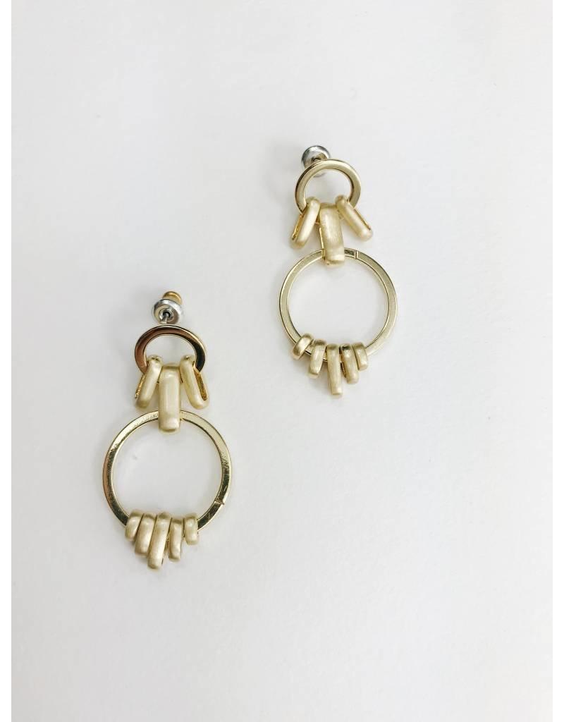Aviva - Gold Plated Earrings