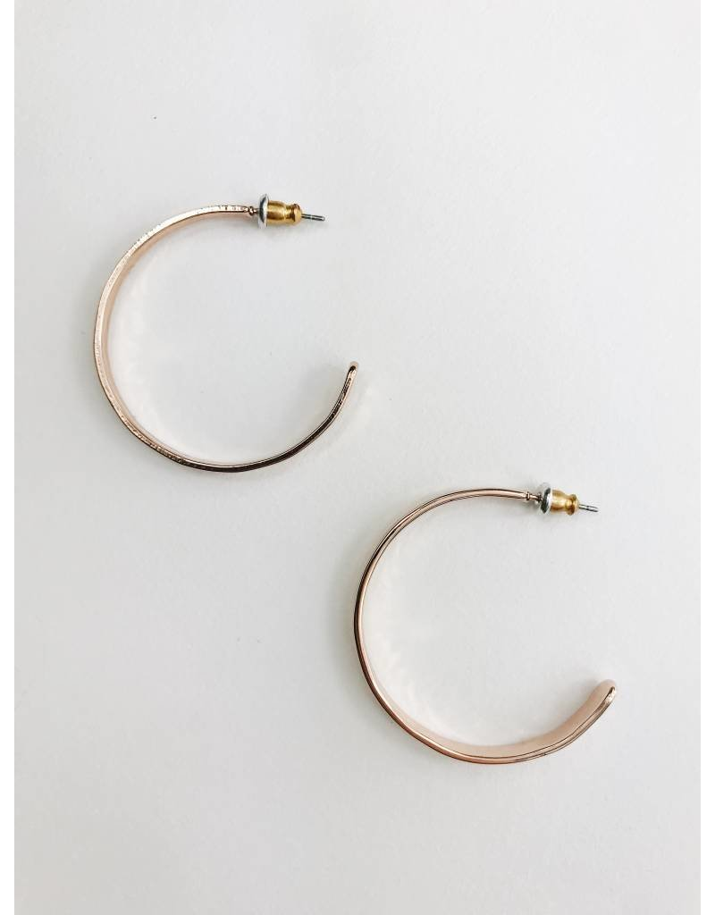 Emma - Rose Gold Plated Earrings