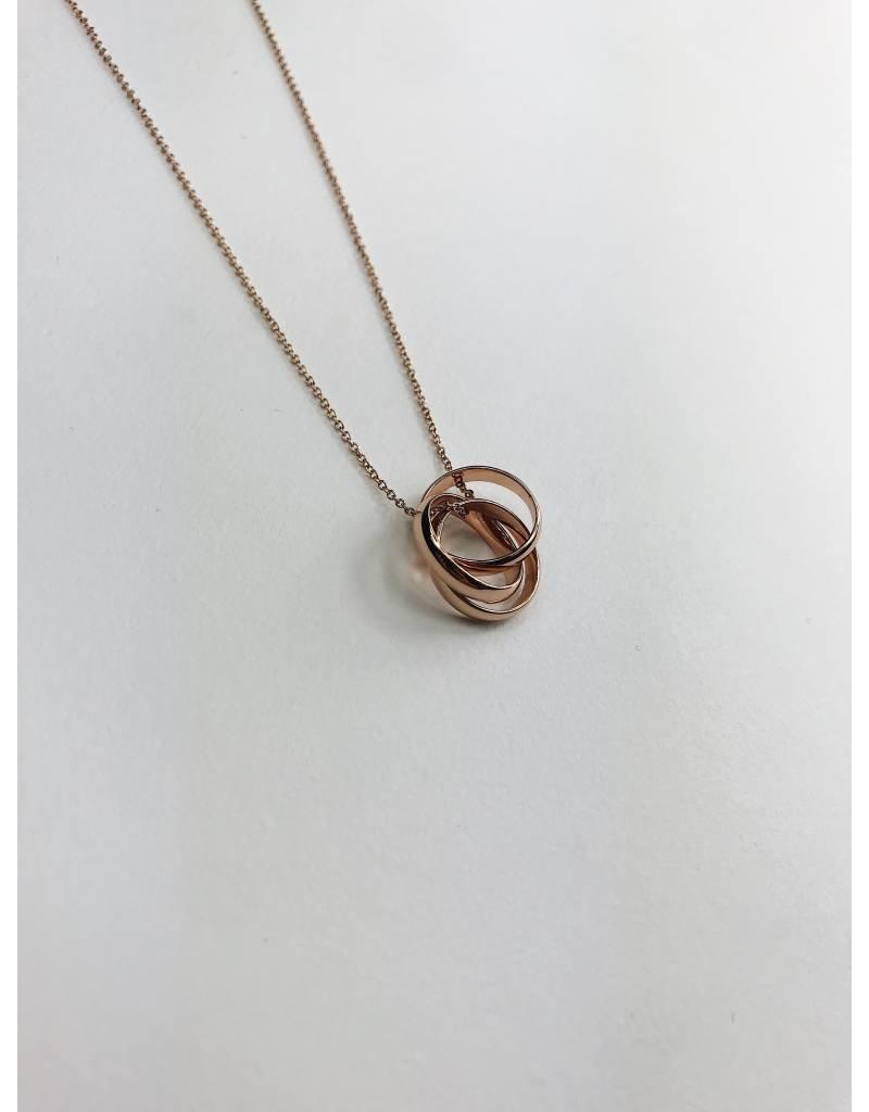 Jenifer - Rose Gold Plated Necklace