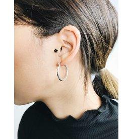 Layla - Boucles d'oreilles plaqué argent - petit