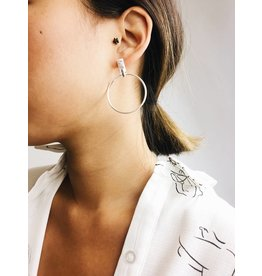 Crystal - Silver Plated Earrings