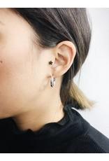 Dolag - Boucles d'oreilles plaqué argent