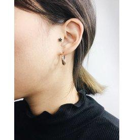 Dolag - Boucles d'oreilles plaqué or rose