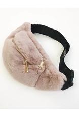 Sac-ceinture fausse fourrure
