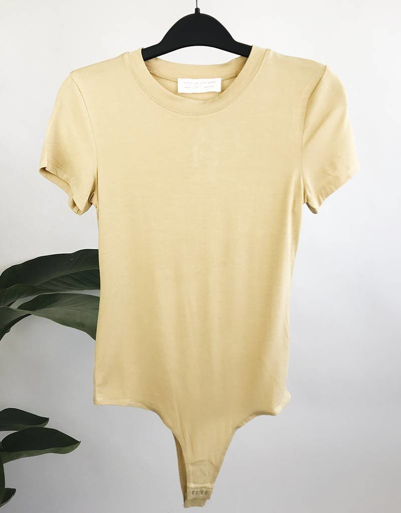 Basic T-shirt Bodysuit