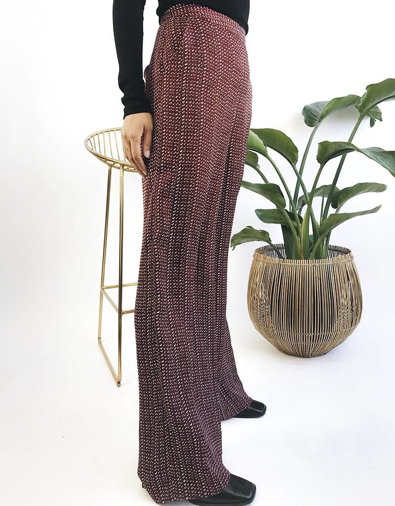 High Waisted Straight Leg Pants