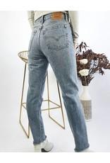 LEVI'S - High Waisted Straight Leg Jeans