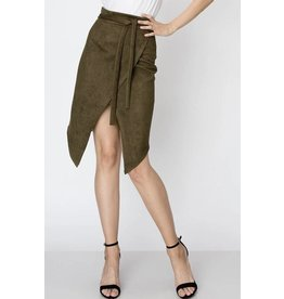 Mid-Length Asymmetrical Skirt