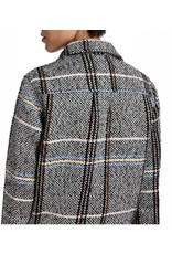 Short Wool Blend Jacket
