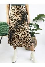 Leopard High Waisted Skirt