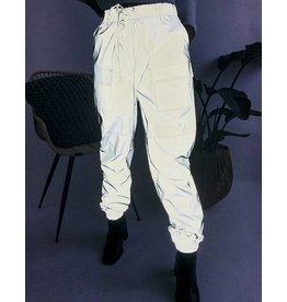 Pantalon cargo entièrement réfléchissant