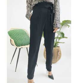 High Waisted Fluid Pants