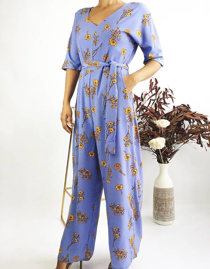 e42352792383 Floral Print Jumpsuit - Le Trunkshop