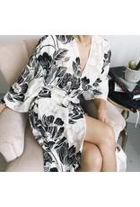 Floral Kimono with Belt