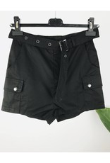 High Waisted Cargo Shorts