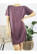 Classic Ribbed T-Shirt Dress