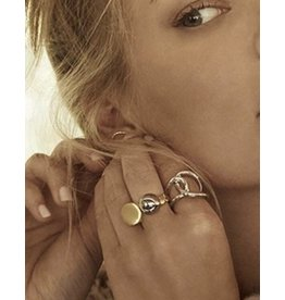 Emily - 18k White Gold Plated Ring