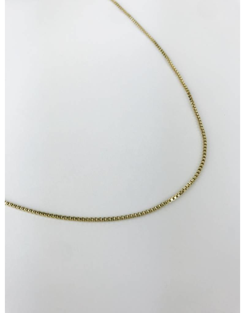 Nancy - Classic Gold Plated Necklace - Long
