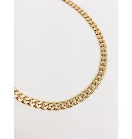 Leila - Gold Plated Cuban Link Choker