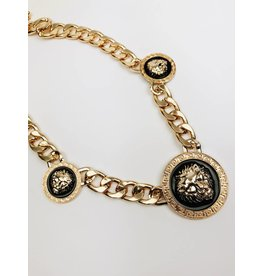 Versace Inspired Statement Necklace