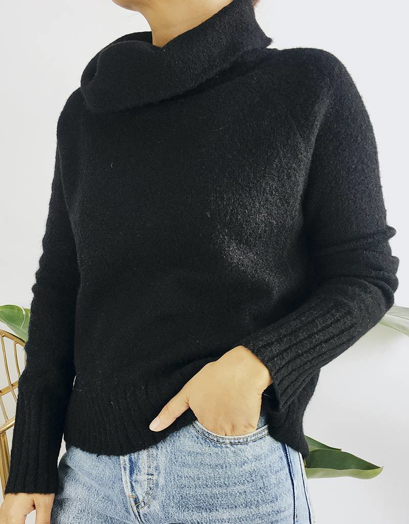 Classic Funnel Neck Sweater