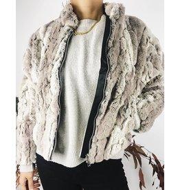 Ultra-Soft Faux-Fur Teddy Jacket