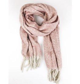 Ultra Soft Plush Scarf - Pink
