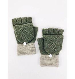Gant-capuchon tricot