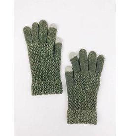 Gant techno en tricot