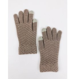 Soft Tech Touch knit Gloves