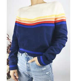 Multicolour Striped Sweater