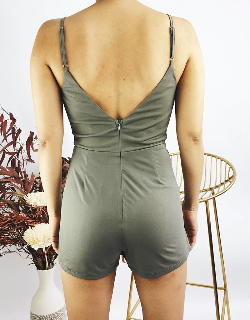 Asymmetrical  Jumpsuit With Straps