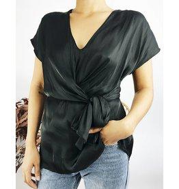 Wrap Design Shirt