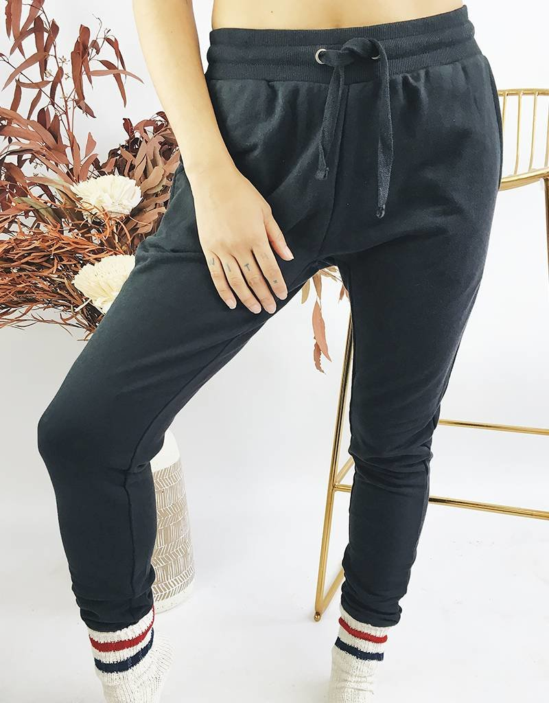 Cozy Jogging Pants - Black