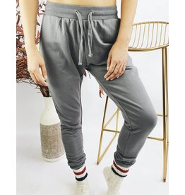 Cozy Jogging Pants - Grey
