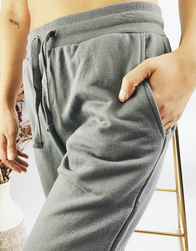 Cozy Jogging Pants - Grey