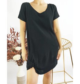 T-Shirt Dress with Knot Detail