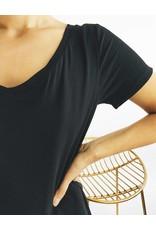 Robe t-shirt avec détail noué