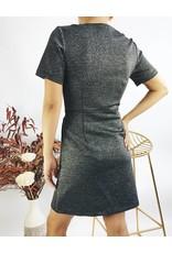 Robe courte ajustée stretch