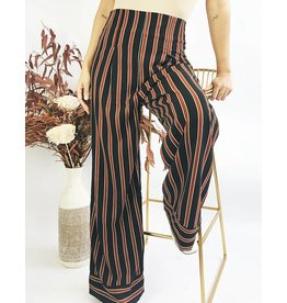 High Waisted Wild Leg Pants