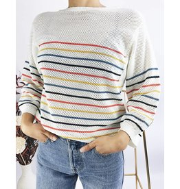 Fine Striped Sweater