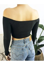 Crop Top with Front Twist
