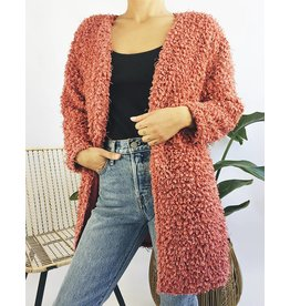 Shaggy Teddy Cardigan