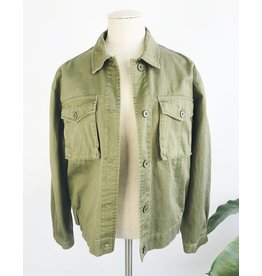 Lightweight Oversized Denim Jacket