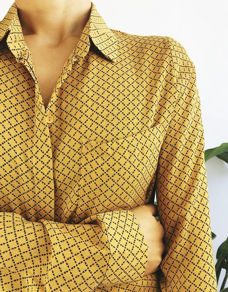 Geo Printed Shirt